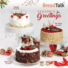Christmas Cake Feels So Magical Breadtalk Indonesia Facebook