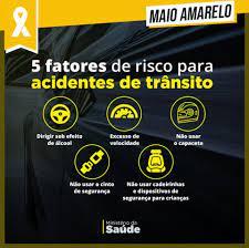 PRF 191 SC - Maio Amarelo- 5 fatores de risco de acidentes...