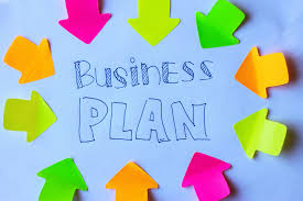 executive summary of the business plan sign saying business plan