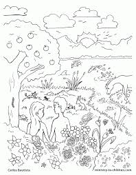 Collection Of Creation Coloring Pages For Sunday School Download And