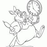 Kleurplaten Van Alice In Wonderlandkleurplaatzzz
