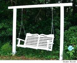 full size of porch swing seat dimensions cover replacement parts freestanding outdoor garden swings on wooden