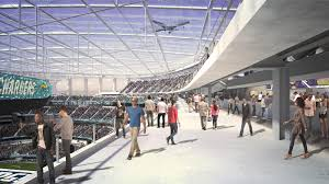 Hollywood Park Stadium Seating Chart Design Sofi Stadium Stadiumdb Com