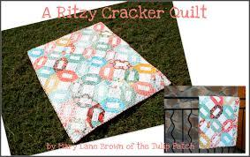 A Ritzy Cracker Quilt Â« Moda Bake Shop & A Ritzy Cracker Quilt Adamdwight.com