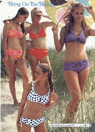 Pin by Myrtle Walsh ♥ on Fashion_the '60s & '70s | Vintage swimwear,  Vintage swimsuit, 70s fashion trending