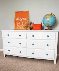 laminate furniture makeover. Old Dresser Makeover: How To Paint Laminate Furniture | Delightfully Noted Makeover