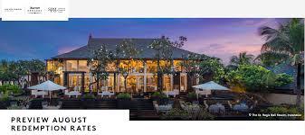 Ritz Carlton Rewards Chart Marriott Rewards Spg Free Night Award Chart Examples
