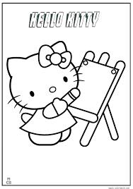 Hello Kitty Colring Sheets Hello Kitty Color Talegadayspa Com