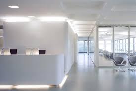 white office design. White Simple Office Interior Design
