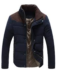 men s outdoor stand collar cotton padded winter coat jacket rm145credit winterclothes
