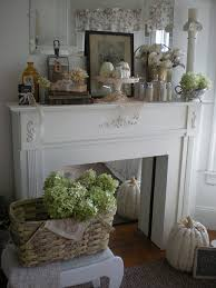 stand alone mantel with a mirror insert put the look of a quaint fireplace in