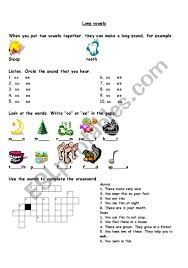 This page contains worksheets, flashcards, online activities and other educational resources to help with long vowels. Phonics Long Vowels Esl Worksheet By Ema Bhs