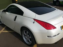 nissan 350z white. nissan 350z 2007 u2013 satin pearl white wrap 350z