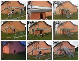 Terrasse Sur Pilotis Structure Metallique Meurthe Et Moselle