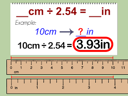 How To Convert Centimeters To Inches With Unit Converter