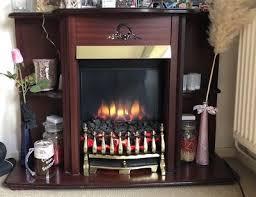 42 bramley suite vintage retro electric fireplace