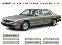 xj8 jaguar xj8 xjr x308 workshop repair manual 1997 2003