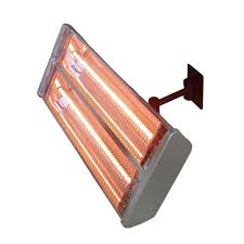 az patio heaters 1 500 watt infrared double electric wall mount electric patio heater