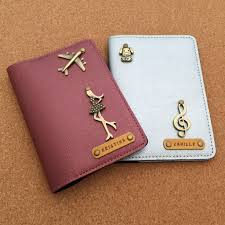 personalised pport holder travel custom pport er couple gifts travel travel essentials travel accessories on carousell