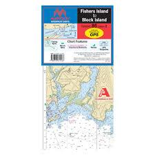 Maptech Wpc086 Fishers Island To Block Island Waterproof Chart