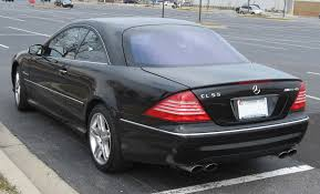 File:2003-Mercedes-Benz-CL55-AMG-rear.jpg - Wikimedia Commons