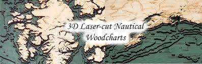 Nautical Wood Charts Wood Charts