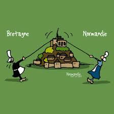 """Résultat de recherche d'images pour """"gif mont st michel entre bretagne et normandie"""""""