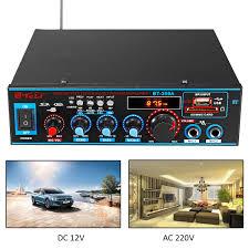 <b>800W</b> 12V220V <b>HIFI 2CH</b> Car Audio Stereo Power Amplifier ...