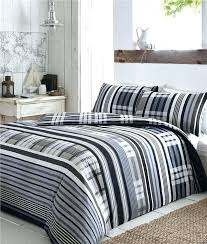 contemporary duvet sets geometric cover modern bedding check quilt bed california king