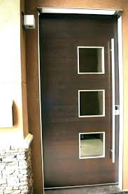 modern exterior double doors. Modern Double Entry Doors Exterior Front Glass .