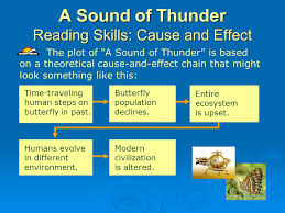 A Sound Of Thunder Plot Chart