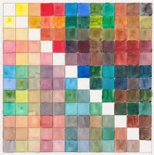 Colour Chart For The Turner Artists Watercolour Set Of 12 X