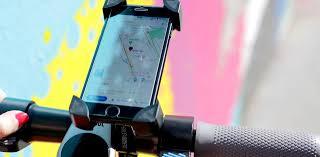Support fixation téléphone portable trottinette électrique