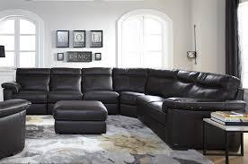 Natuzzi Bedroom Furniture Natuzzi Editions B757 Four Piece Power Reclining Sectional Sofa