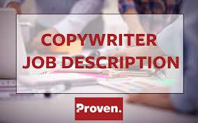 the perfect copywriter job description copywriter job description