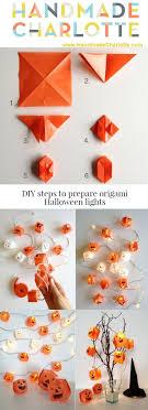 Diy Halloween Light Show Diy Prepare Origami Halloween Lights World Inside Pictures