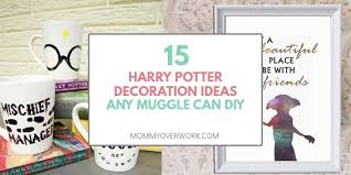 15 enchanting harry potter decorations