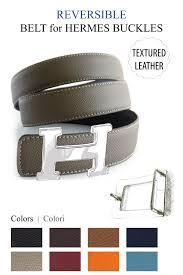 textured calfskin belt strap for hermes buckle belt kit
