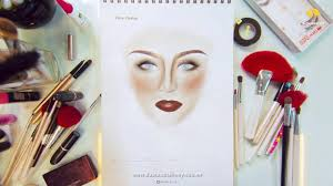 face charts for beginners