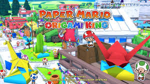 Rescue everyone from the evil witch! Paper Mario The Origami King Is A Rare Game I Actually Want To 100