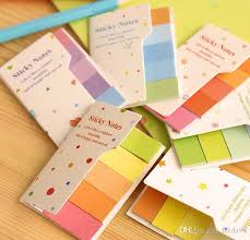2019 Rainbow Sticky Notes Multicolor Post It Memo Pad Scrapbooking