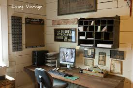 vintage home office. Alto Home Office Rustic-home-office Vintage E