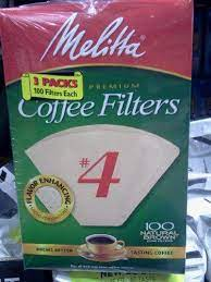 Get 5% in rewards with club o! Melitta Cone Coffee Filters Natural Brown 4 100 Count Pack Of 3 Spitzmiller Norris House Plans