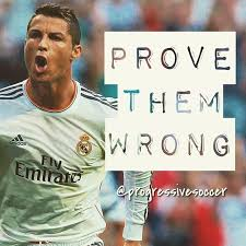 """Progressive Soccer on Twitter: """"⚠️ Use """"them"""" as motivation because one day  you will have the chance to prove them wrong. Show """"them"""" how good you are  with your accomplishments, not your"""