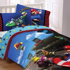 super mario bros kids bedding