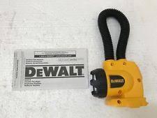dewalt flashlight 18v. new dewalt dw919 18v cordless flexible floodlight flashlight work light