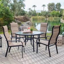 Designer Patio Table Hot Item Outdoor Patio Designer Garden Dining Table 4 Chairs Set