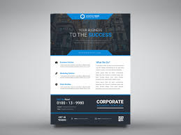 Business Flyer Design Templates Business Flyer Design Template By Muhammad Armash Khalid On