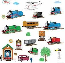 Thomas The Train Growth Chart Roommates Rmk1126gc Thomas And Friends Peel Stick Growth