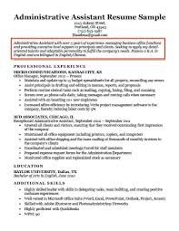 sample resume supervisor position sample resume objectives for a supervisory position administrative